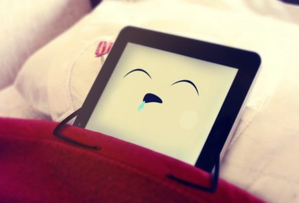 iPad descansando