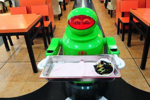 China robot restaurant