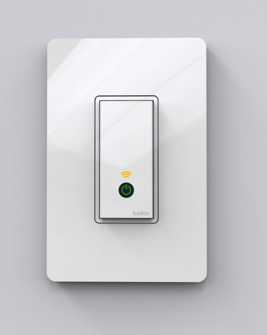 Belkin interruptor de luz controlable por Internet