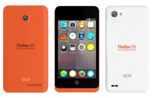 Teléfonos Geeksphone con Firefox OS