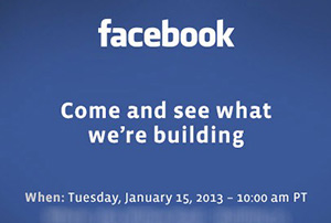 invitacion facebook enero 2013