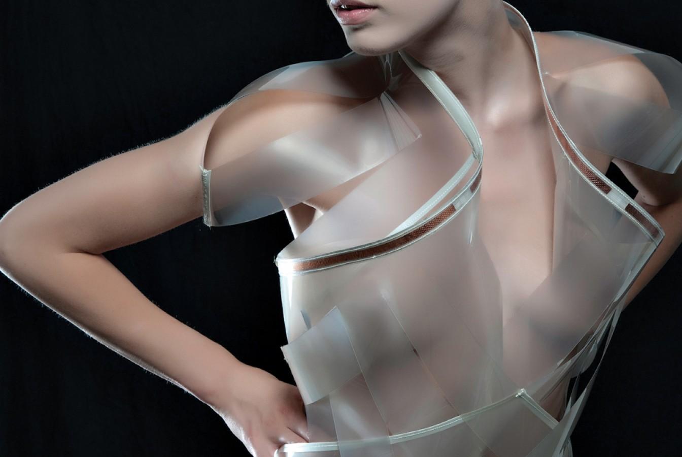 Vestido que transparenta