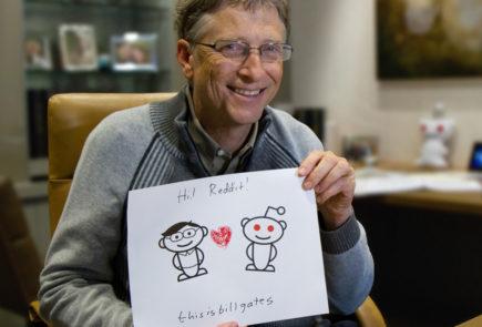 Gates en Reddit