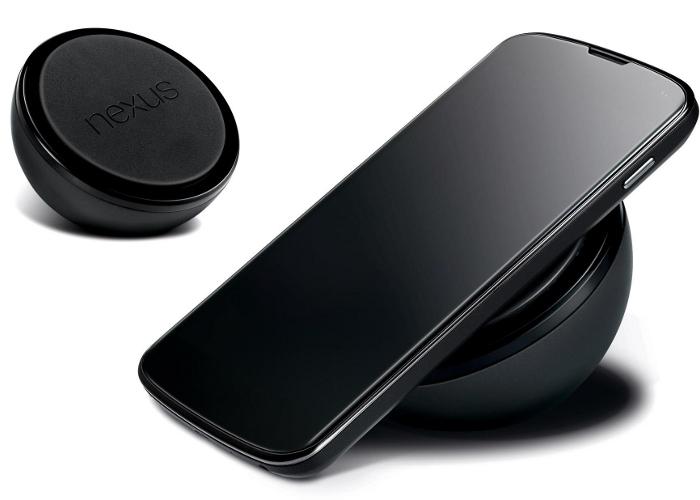 Cargador inalámbrico Nexus 4