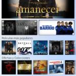 Películas en Sony Xperia T