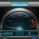 Test velocidad Wi-Fi de Sony Xperia T