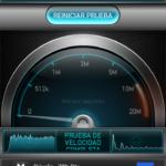 Test velocidad 3G de Sony Xperia T