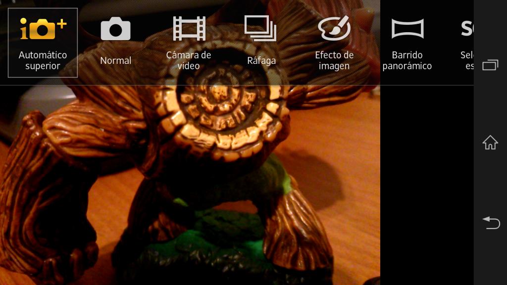 Modos de imagen en Sony Xperia Z