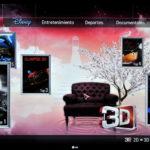 3D World en LG 55LM860V