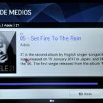 Reproducción de música en Vínculo de Medios en LG 55LM860V