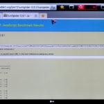 Test Sunspider en LG 55LM860V