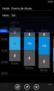 Nokia Lumia 820 - HERE Transit