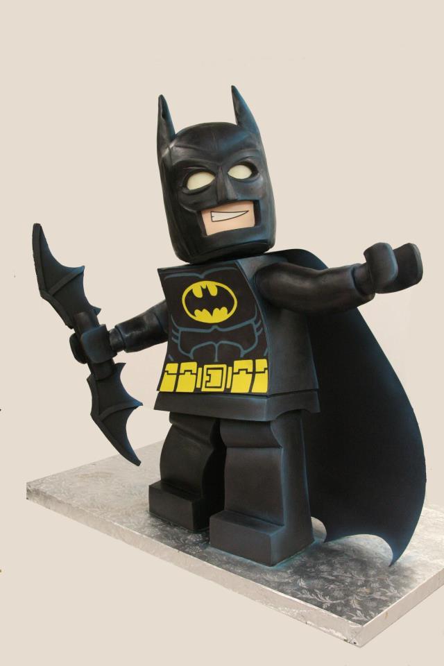 Pastel de Batman