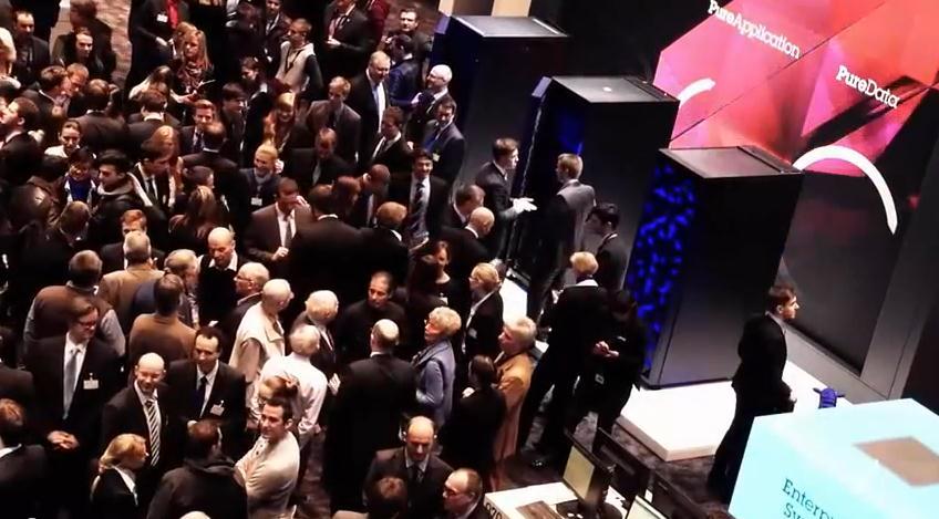 Momento Harlem Shake en el pabellón de IBM en CEBIT 2013
