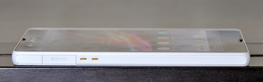 Sony Xperia Z lateral izquierdo