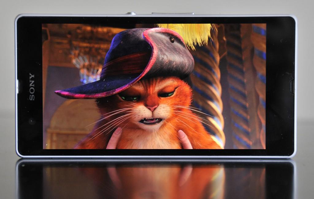 Sony Xperia Z reproducción película