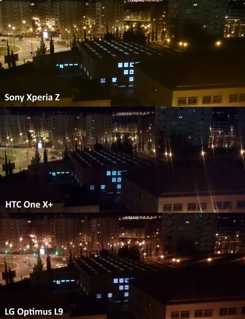 comparativa Sony Xperia Z - HTC One X plus - LG Optimus L9 - 004