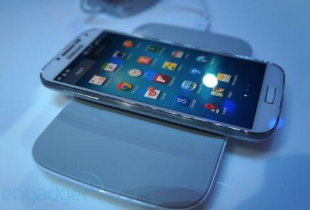 Carga inalámbrica Qi del Galaxy S4