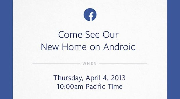 Evento Facebook sobre Android