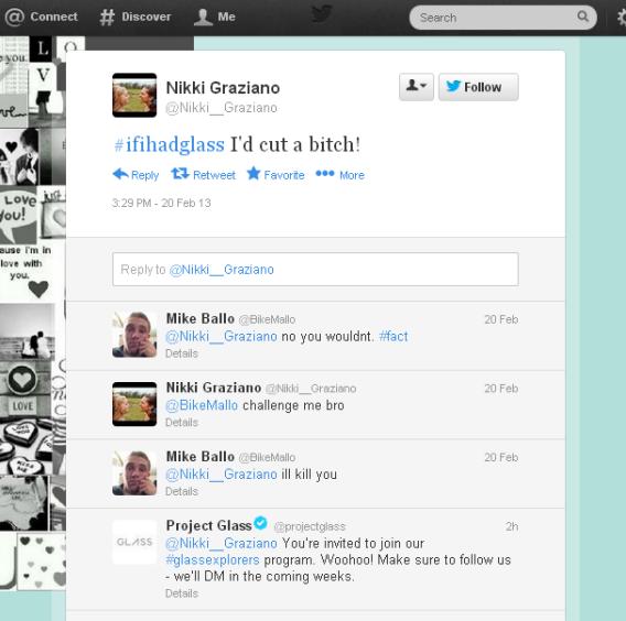 Tweet concurso Google