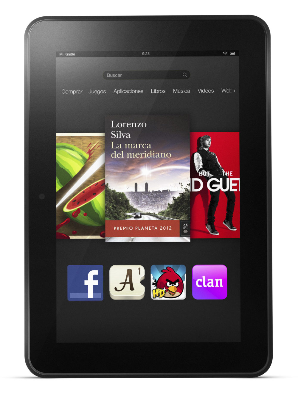 kindle fire hd 8.9 en Amazon España