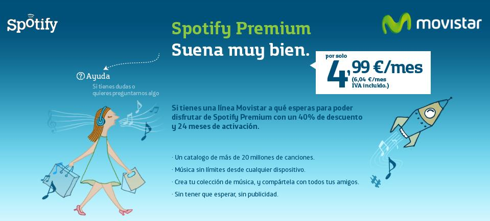 Movistar y Spotify