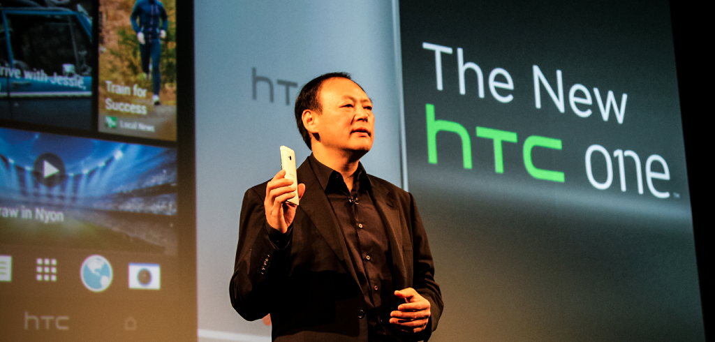 Peter Chou con HTC One