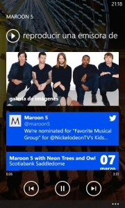 Nokia Lumia 820 - Nokia Music