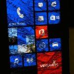 Nokia Lumia 920 aplastado