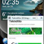 LG Optimus L9 - Qslide app Navegador