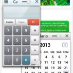 LG Optimus L9 - Qslide app Calculadora y Calendario