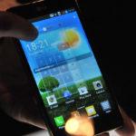 Qslide del LG Optimus G