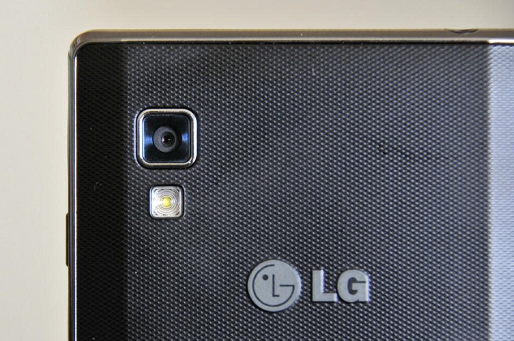 LG Optimus L9 - camara