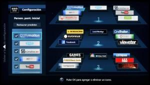 Panasonic Smart TV - Reorganizacion