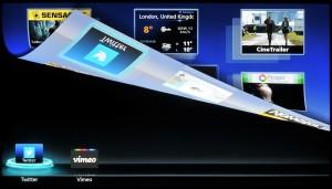 Panasonic Smart TV - Segundo plano