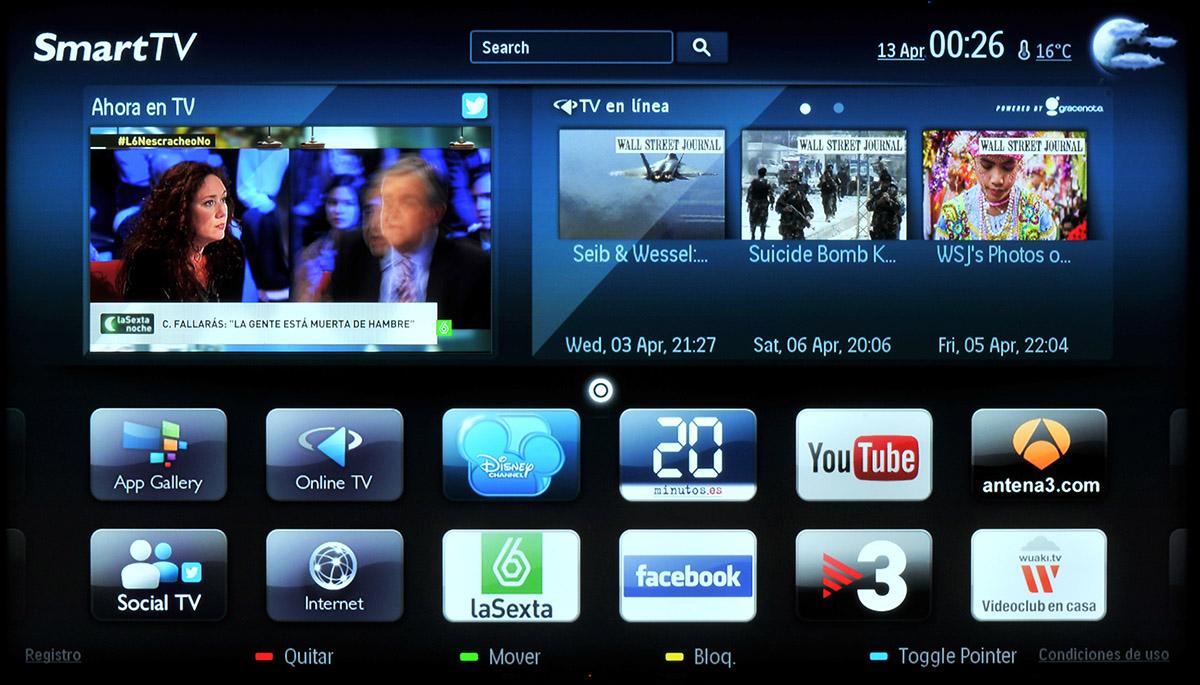 Philips Smart TV escritorio