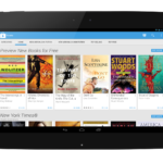 Google Play Books Home