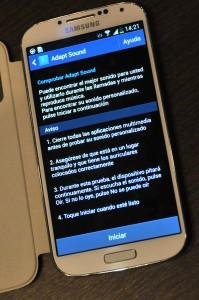 Samsung Galaxy S4 - Adapt Sound