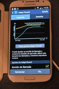 Samsung Galaxy S4 - Adapt Sound 2