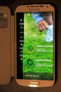 Samsung Galaxy S4 - S Health