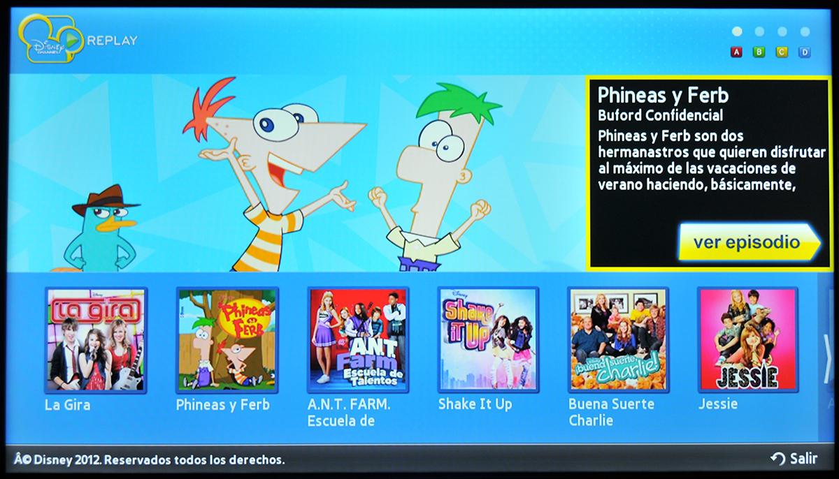 Samsung Smart Tv Disney Channel 1 Tekn 243 Filo