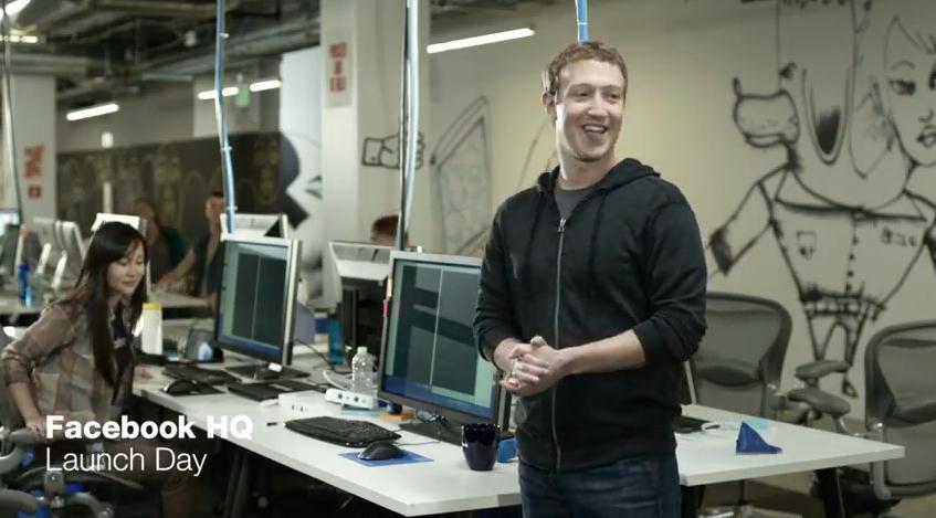 Anuncio Facebook Home
