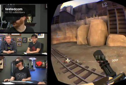 Jugando a Team Fortress 2 con Oculus Rift