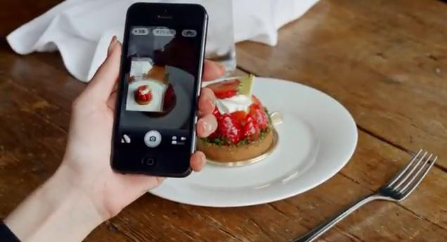 Anuncio cámara iPhone