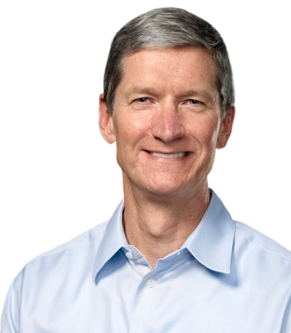 Tim Cook, presidente de Apple