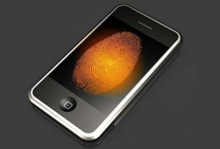 iPhone con lector de huellas