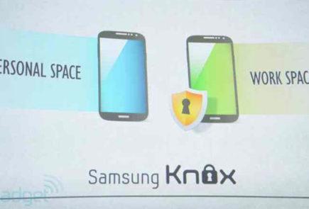 Sistema Knox del Galaxy S4