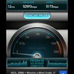 LG Optimus G: Velocidad en Wi-Fi