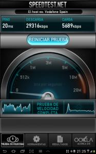 Galaxy Tab 2 10.1: Test de velocidad