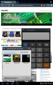 """Navegador web en Samsung Galaxy Tab 2 10.1"""""""